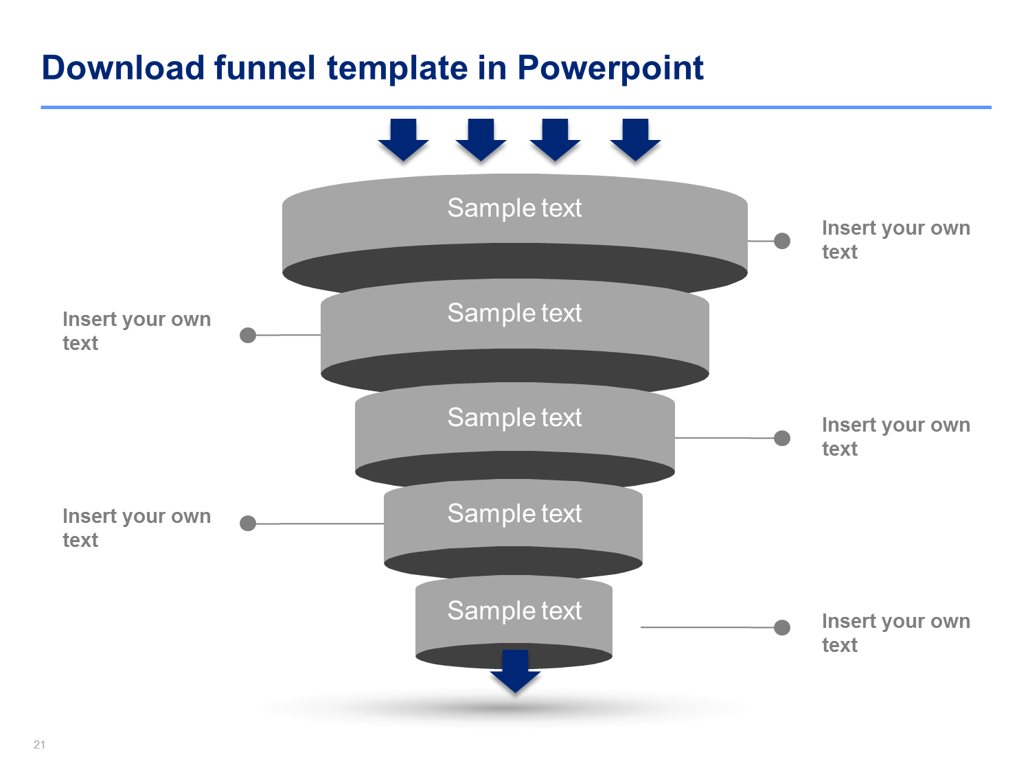 funnel diagram templates | products and template, Modern powerpoint