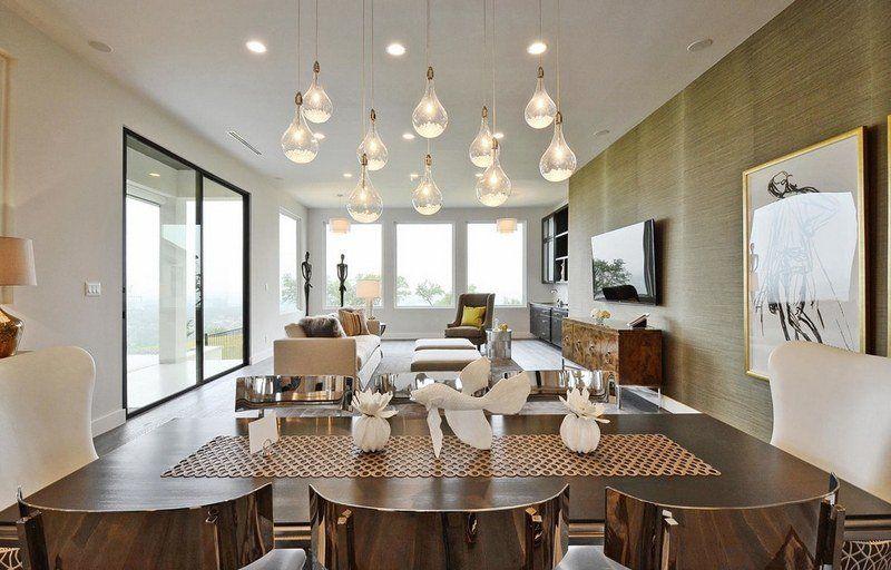 Suspension ampoule à filament- 17 idées maison originales Salons
