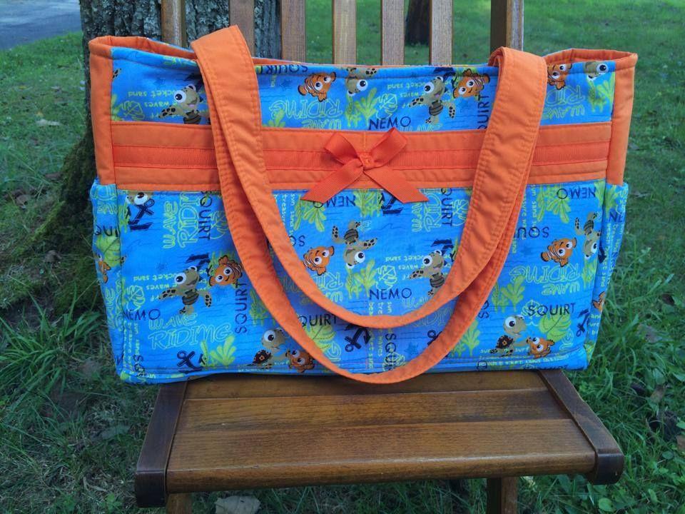 Finding Nemo Custom Order Diaper Bag Rare Out Of Print Fabric Https