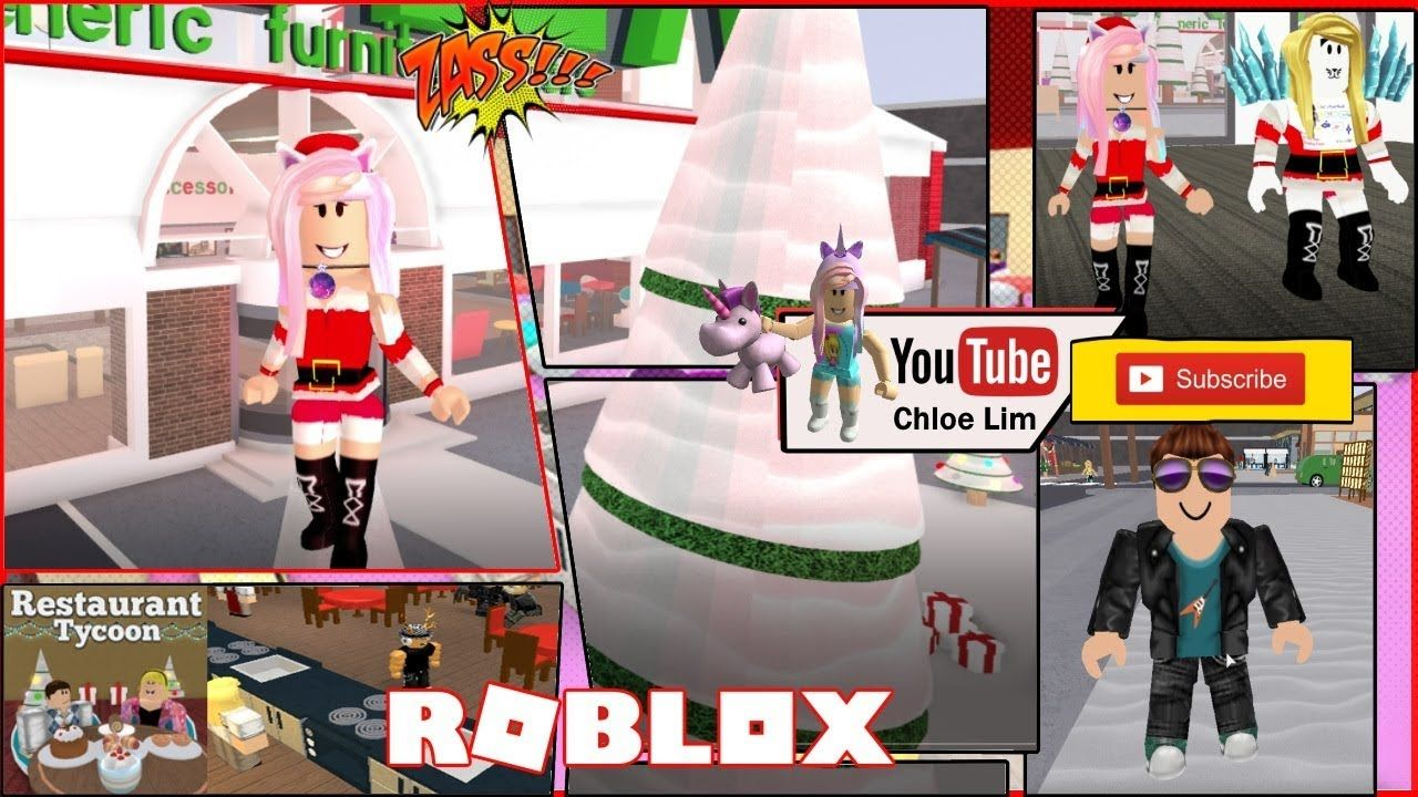 Roblox Player Points Tycoon Update Restaurant Tycoon New Christmas Decorations And Christmas Chef Christmas Decorations Restaurant Fun Slide