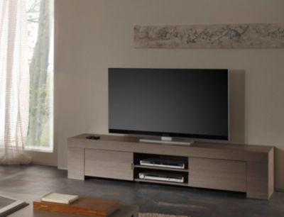 TV-Unterteil Eiche grau Melamin Jetzt bestellen unter https - wohnzimmer tv möbel