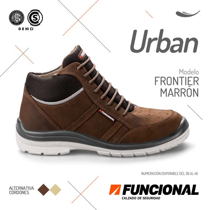 #calzado #seguridad #moda #zapatos #tecnologia #caucho #Funcional #Ultralivianos #Urban #Frontier