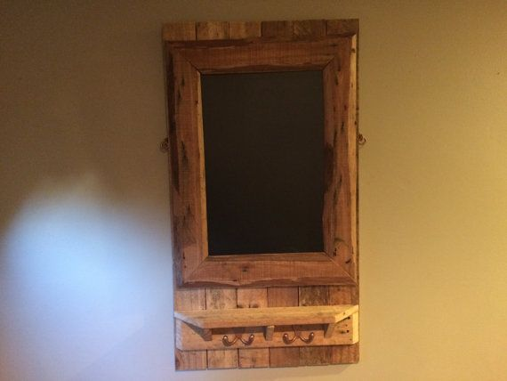 Entry way reclaimed chalkboard by Spike and Mae