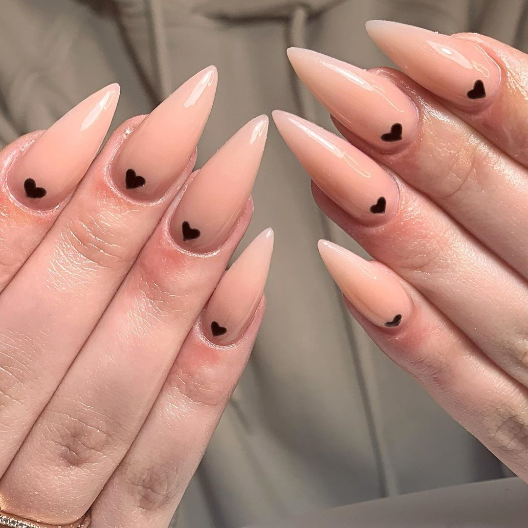30 Pink Color Stiletto Nailstyles You Can Try In 2020 Spring