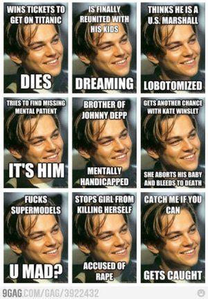 Oh Leo...