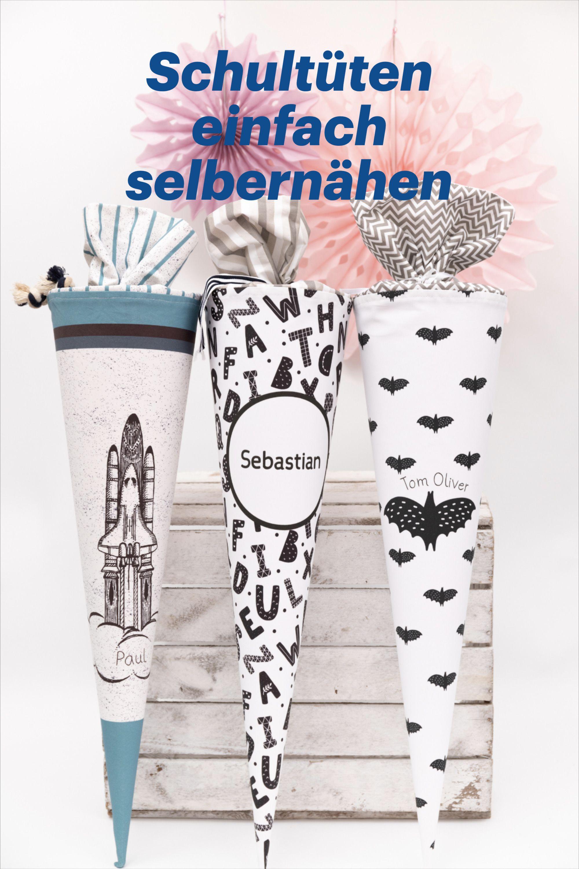 Photo of Schultüten selbernähen mit den DIY Sets