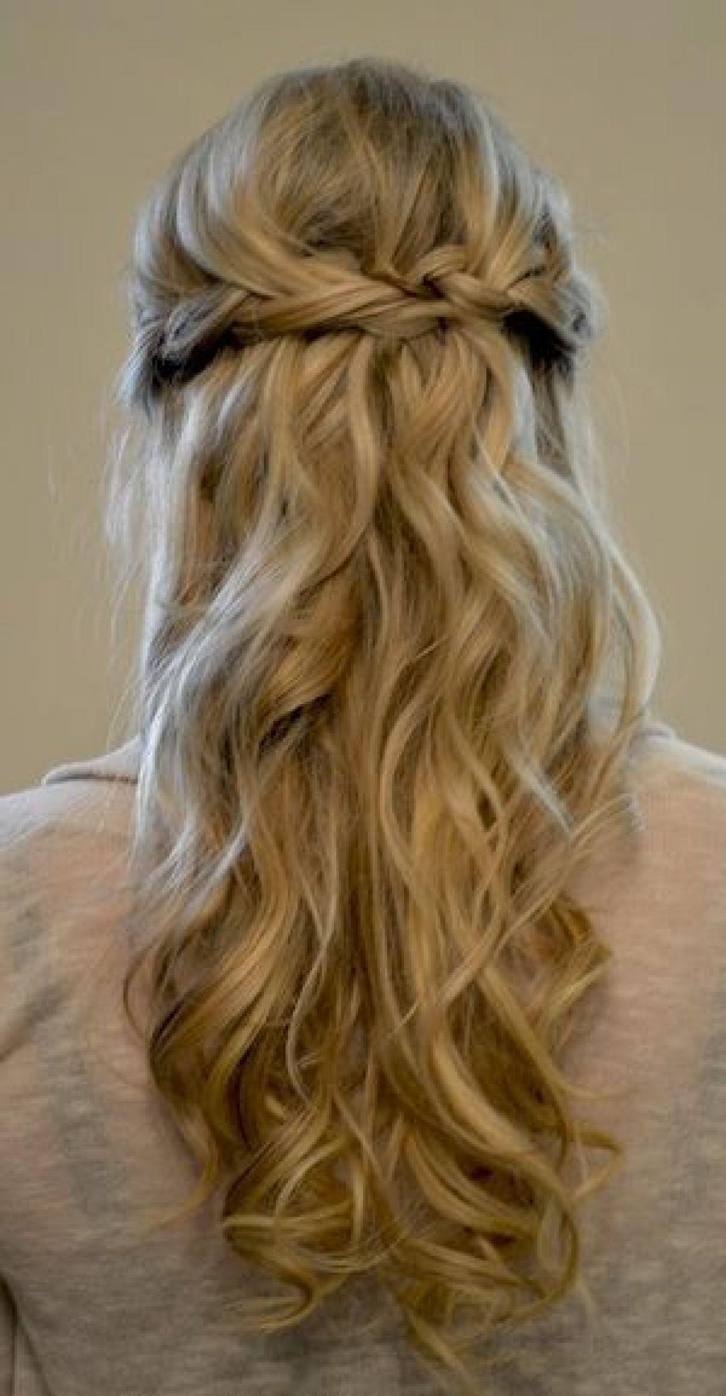 Best half up half down wedding hairstyles with braids easy