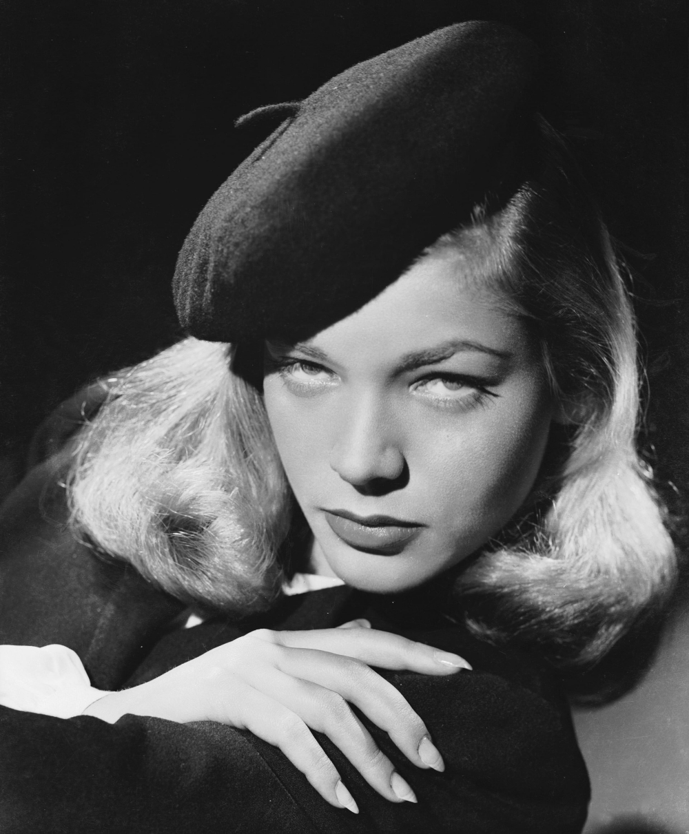 Lauren Bacall nicknamed The Look on a shooting in the 40s