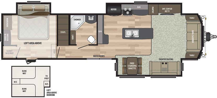 Floorplan Image Of Keystone Residence Model 40loft New Floor