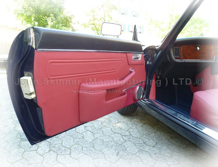 Xj6 2 Door Coupe Altered From Original Door Panel Armrest Full Leather Inlcuding Original Weld Pattern