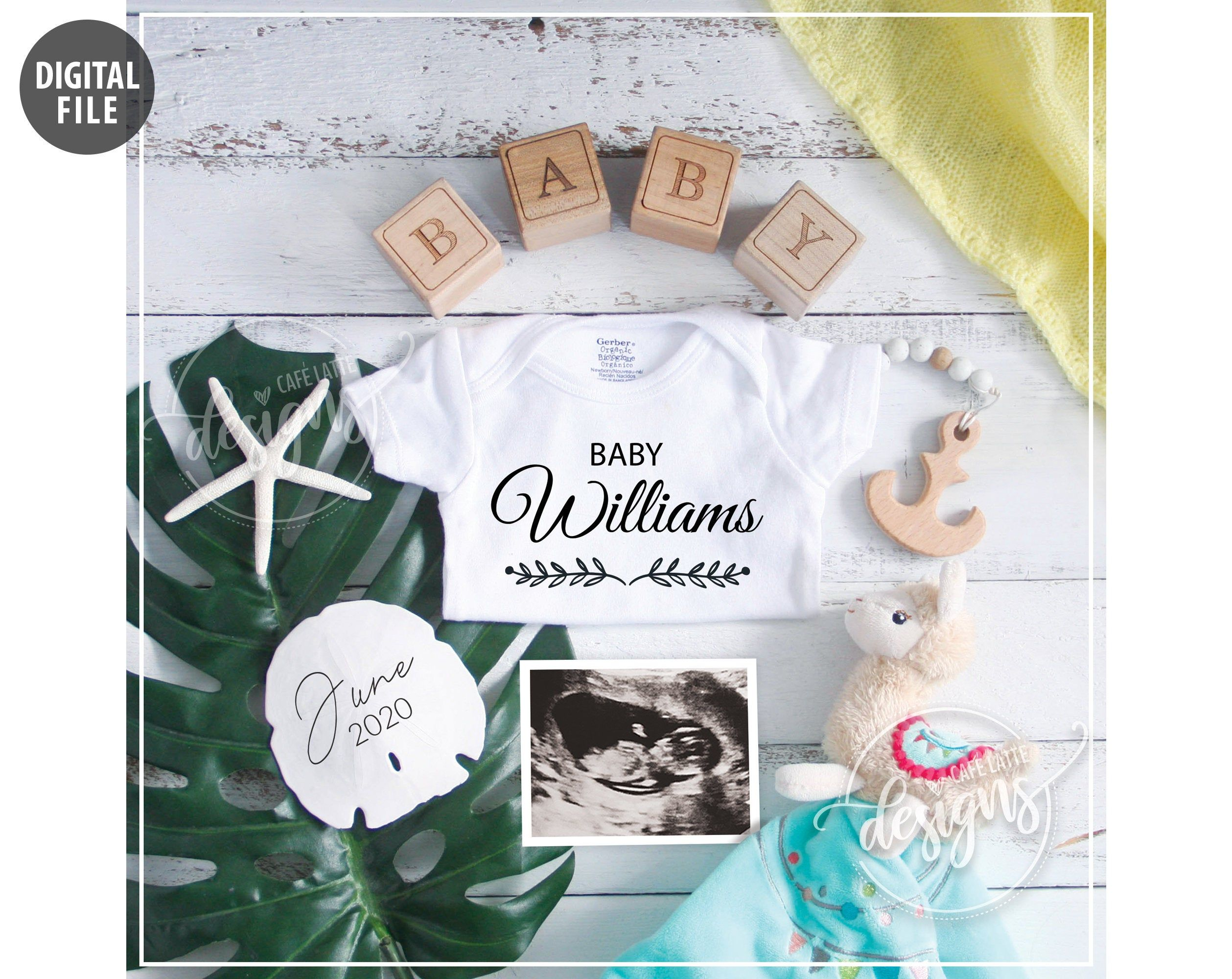 Pregnancy Announcement Pregnancy Reveal Idea Guess What? Bib for New Baby Suprise New Grandparents Baby Bib Baby Bib Announcement