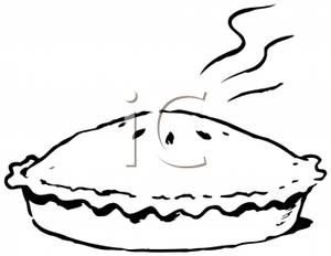 clip art black and white steaming pie in black and white clip art rh pinterest com