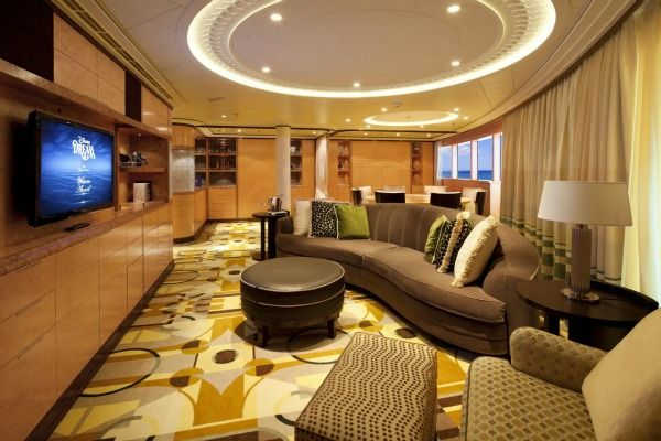 Luxury On Open Water Hotel Suites Cruise Ships Rooms Suites