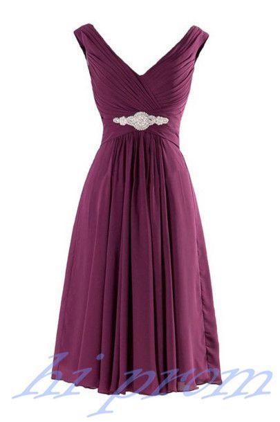 b39b218aa21af Purple Homecoming Dress,Straps Homecoming Dresses,Chiffon Homecoming ...