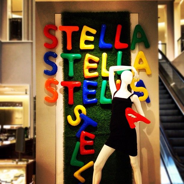 Stella McCartney at @Saks Fifth Avenue Fifth Avenue Fifth Avenue Boca Raton!