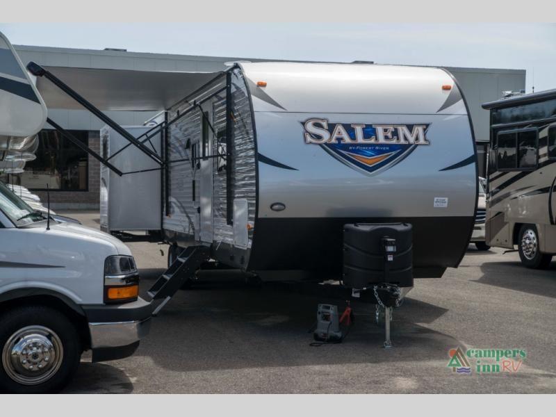 New 2019 Forest River Rv Salem 31kqbts 63 Travel Trailer At