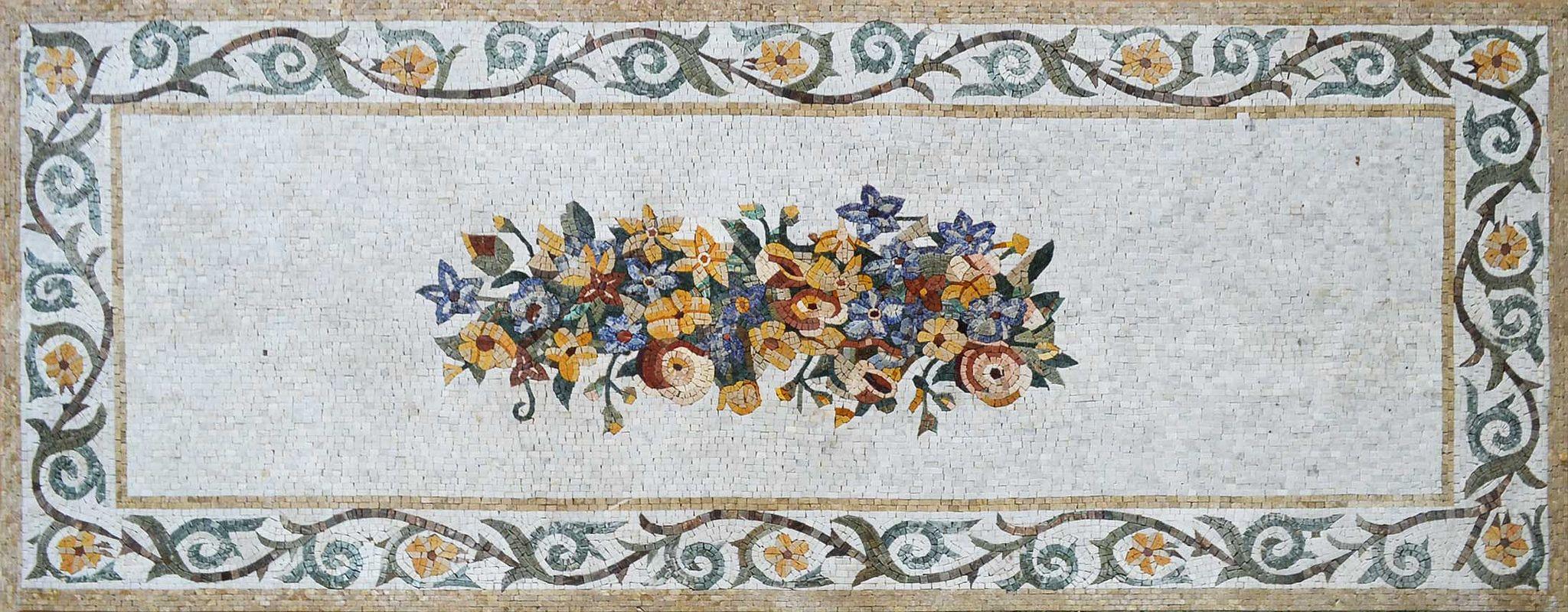 https://flic.kr/p/dbTi75 | Floral Mosaic Rug -