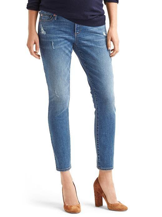 5684869512bc2 Gap Womens Authentic 1969 Full Panel True Skinny Jeans Medium Indigo ...