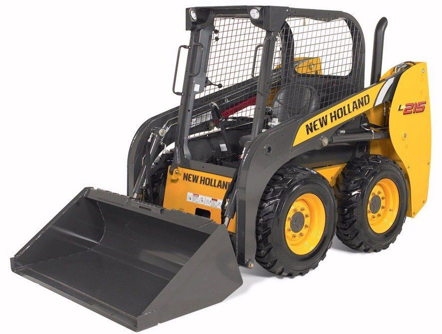 New Holland S L215 Skid Steer Has An Operating Capacity Of 1 500 Pounds Full Specs Http Www Specguideonline Com Pro New Holland Farm Equipment Tractors