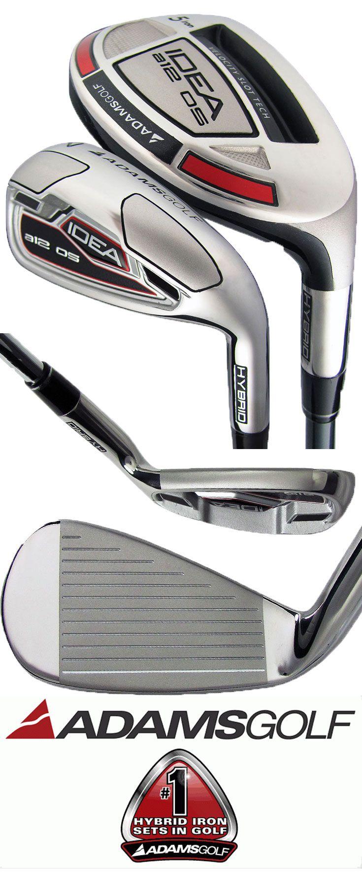 Adams Idea A12 Os Hybrid Irons Set Golf Golfclubs Rock Bottom Golf Rockbottomgolf Golf Ironing Set Golf Clubs