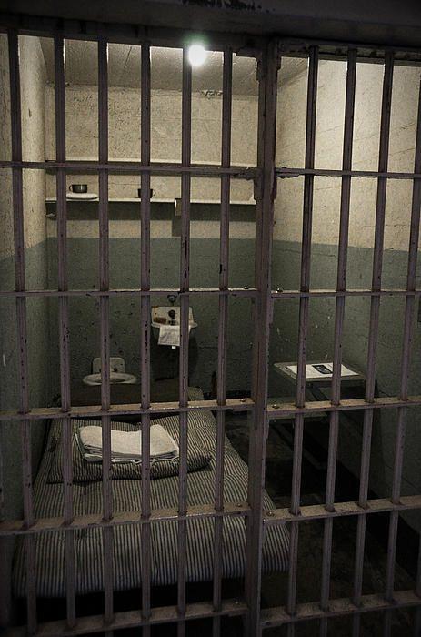 A Cell In Alcatraz Prison Prison Prison Cell Abandoned Prisons