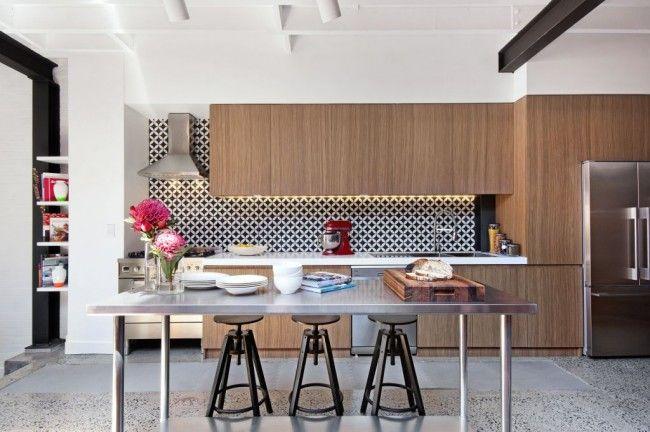 Industrial New York Loft Style Renovation In Sydney  Pin More Custom New York Kitchen Design Style Inspiration Design