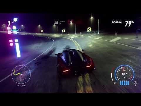 Need for Speed Heat - Koenigsegg Regera Heat Level 5 @ Night Underground...