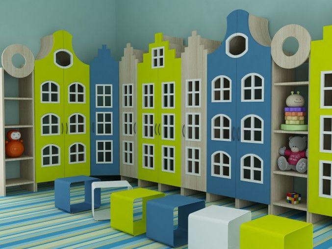 Дизайн интерьера детского сада