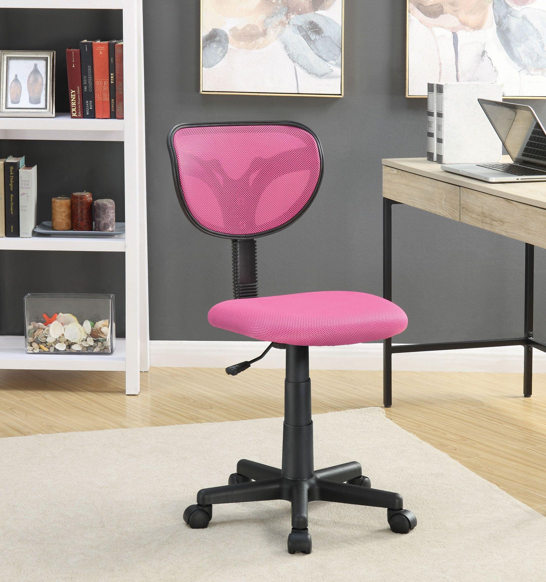back mid task amazoncom chair adjustable office pink desk home l