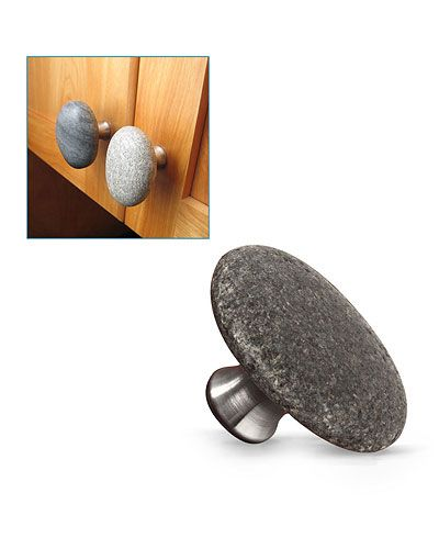Sea Stone Cabinet Knobs Or Drawer Pulls | Sea Stone Cabinet