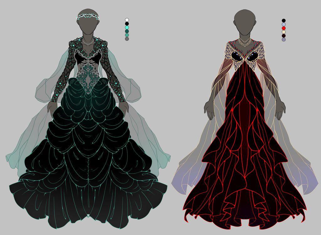 [OPEN 1/2] Dress adoptable Auction by onavici.deviantart