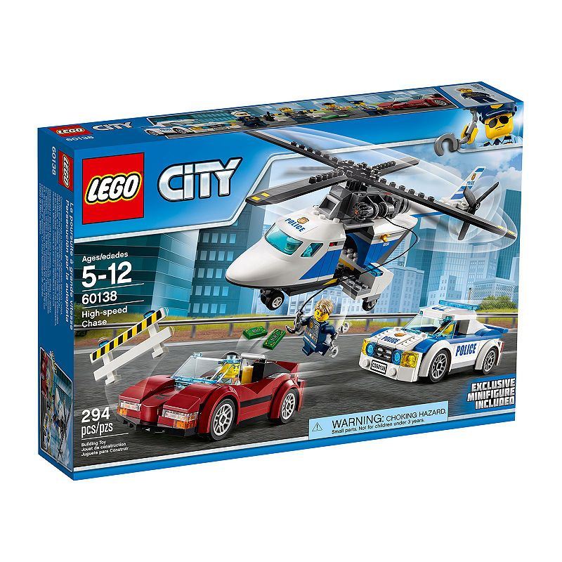LEGO 60138 High Speed Chase Building Toy Brand New