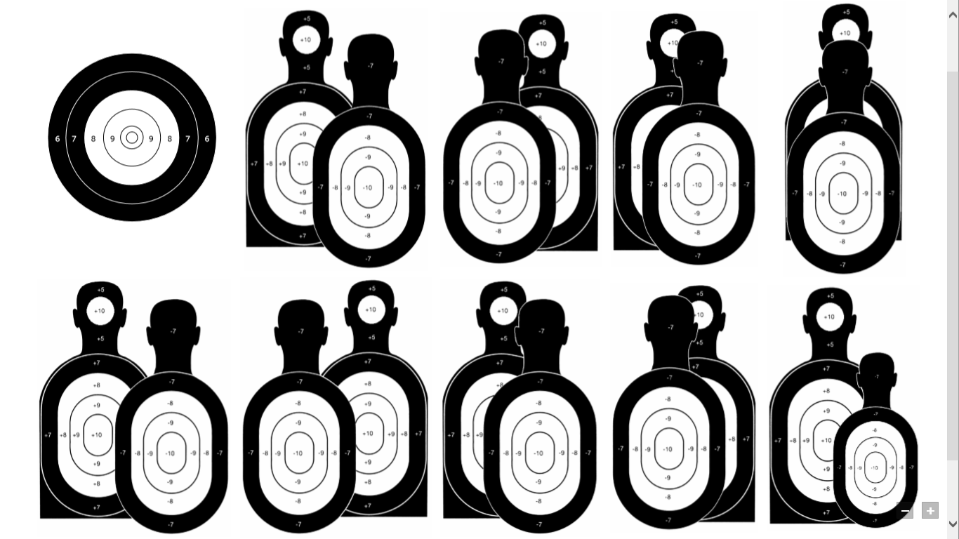 Pin on gun range