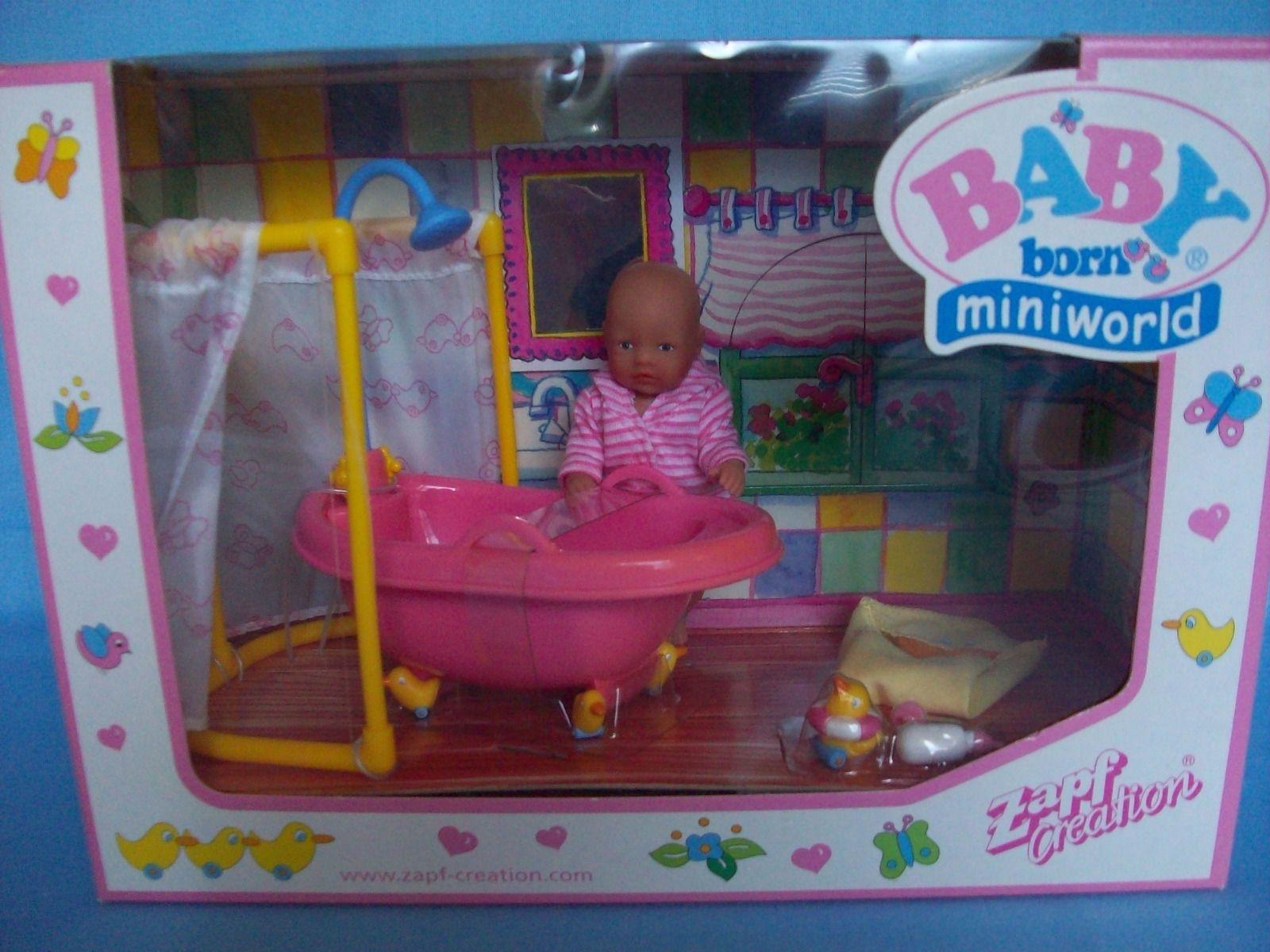 mini Baby Born 2 neue seltene Sets - Küche und Badezimmer - Ostern ...