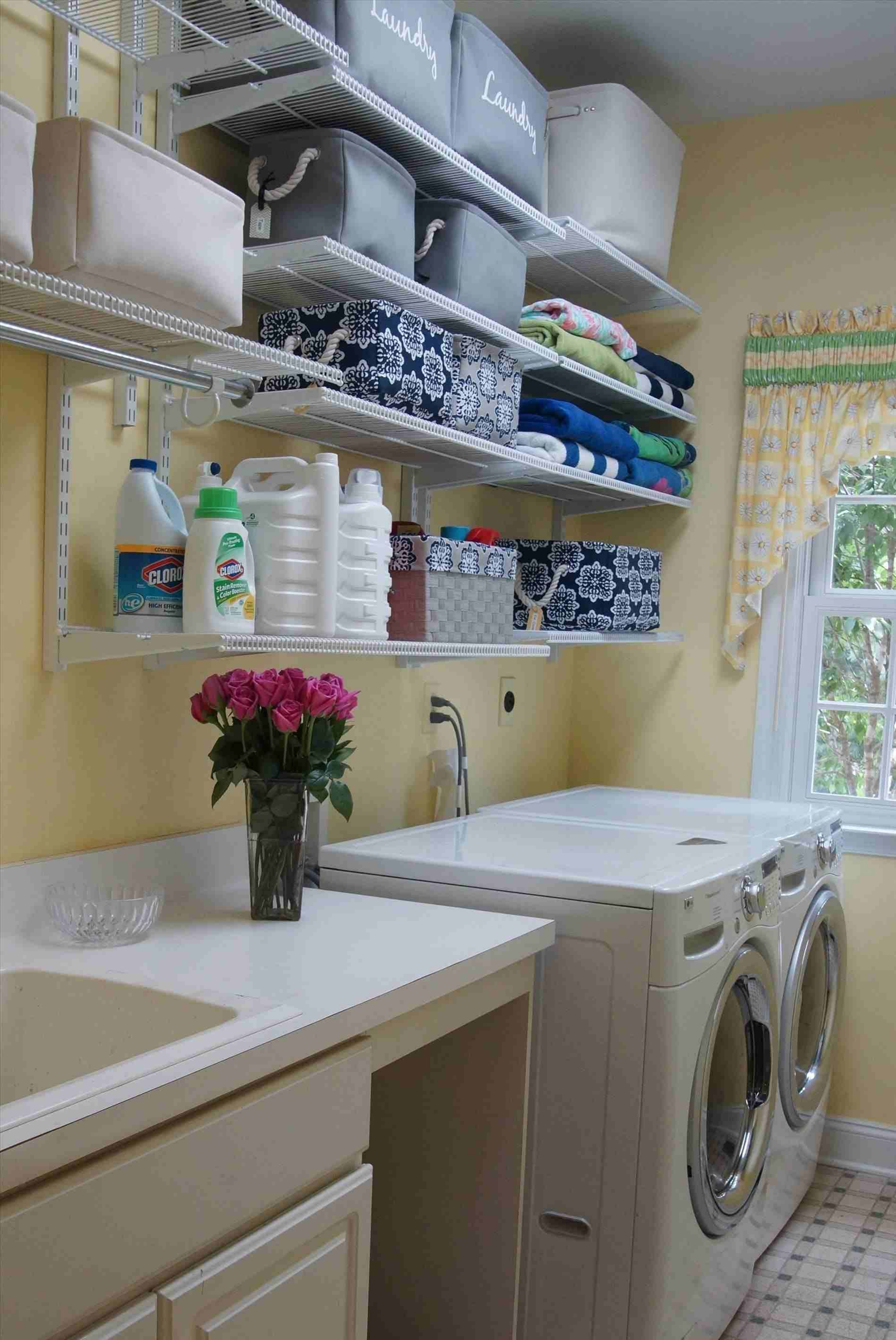 20 Stunning Laundry Room Decorating Ideas For Your Washing Comfort Design Decorating Laundry Room Storage Laundry Room Decor Laundry Room Organization