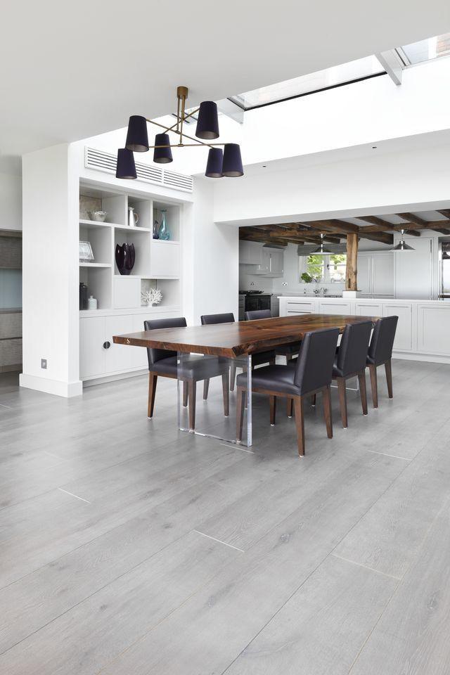 Pin By Yanina Mendez On Simil Madera Pisos Grey Laminate Flooring Living Room Grey Laminate Flooring Living Room Flooring