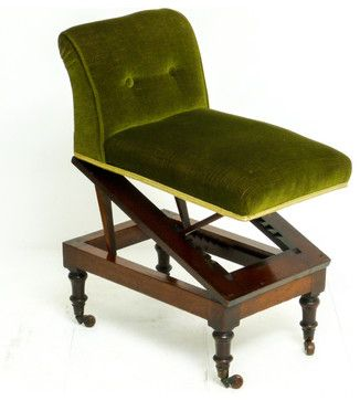 Bentwood Footstool Or Gout Stool. Benches/stools Antiques