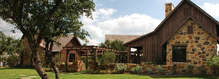 Texas Hill Country Stone Homes Stone House