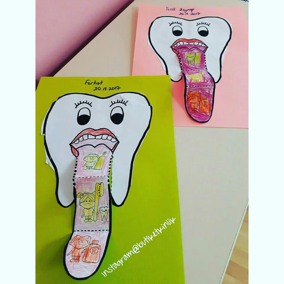 Ağız ve Diş sağlığı etkinliğimiz | Kalıplı Okul Öncesi Etkinlikleri ...