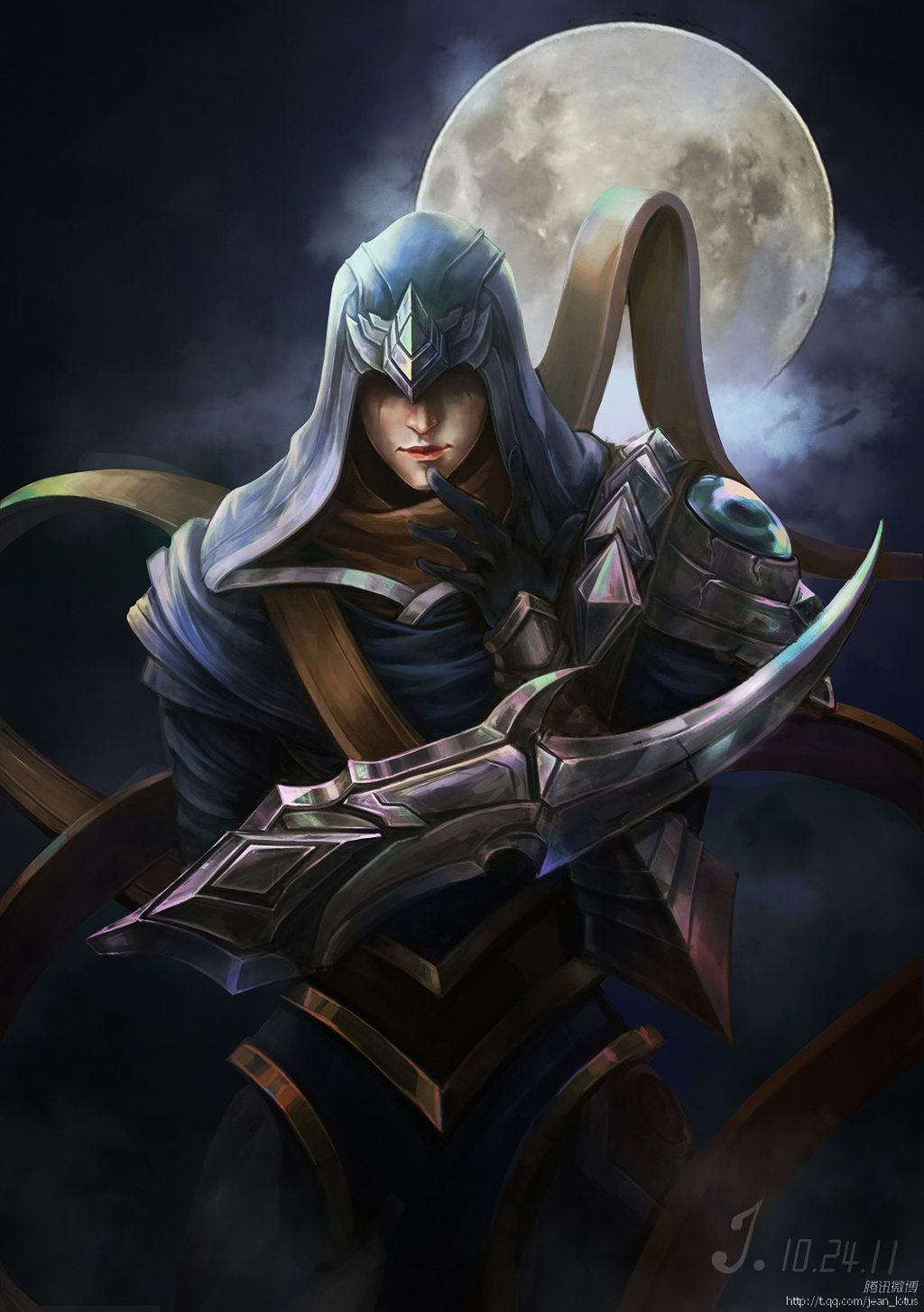 talon lol cosplay inspiration league of legends pinterest