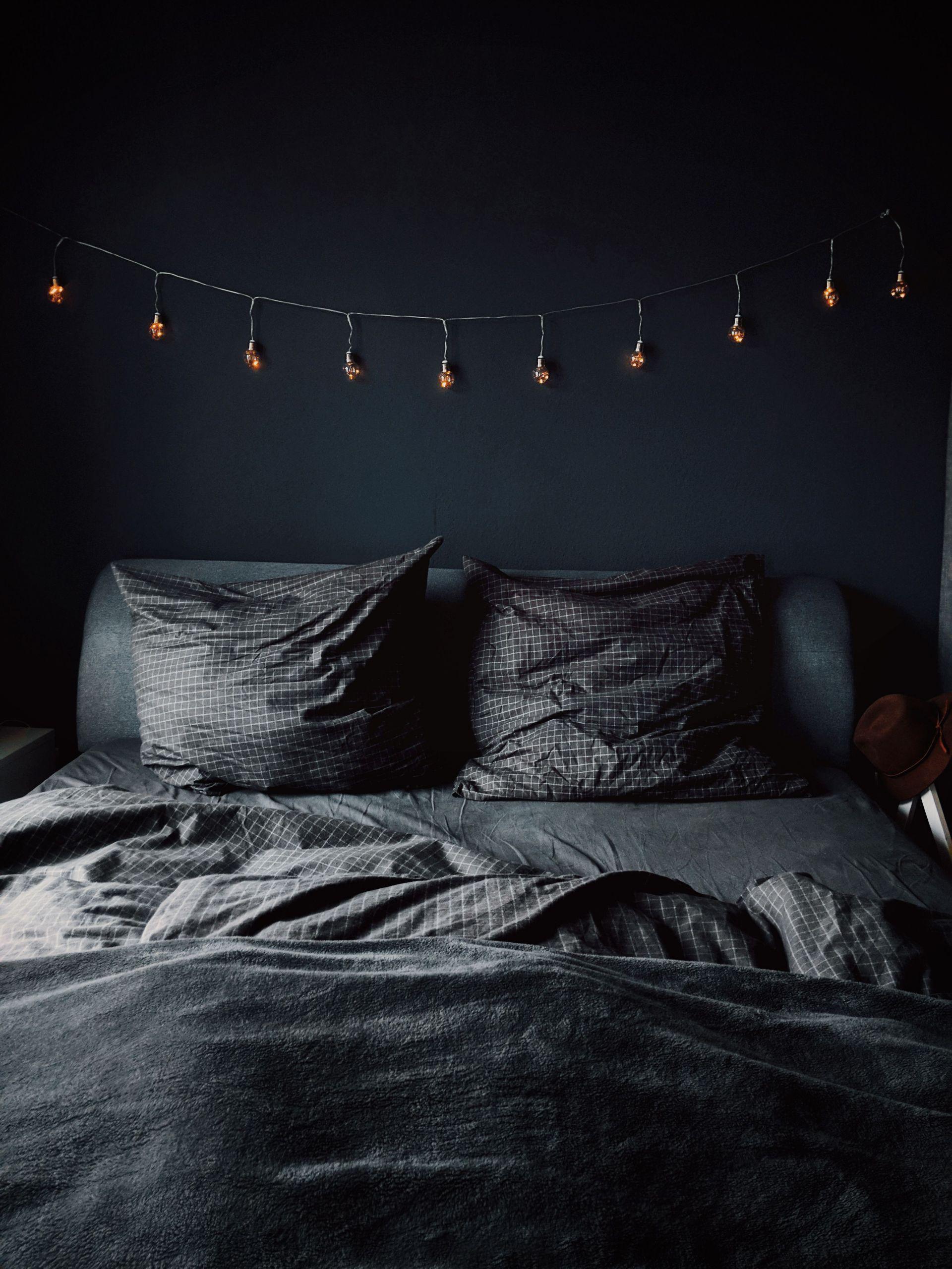 Il Meglio Di Camere Da Letto Bianche E Nere In 2020 Dark Bedroom Dark Bedroom Walls Bedroom Color Schemes