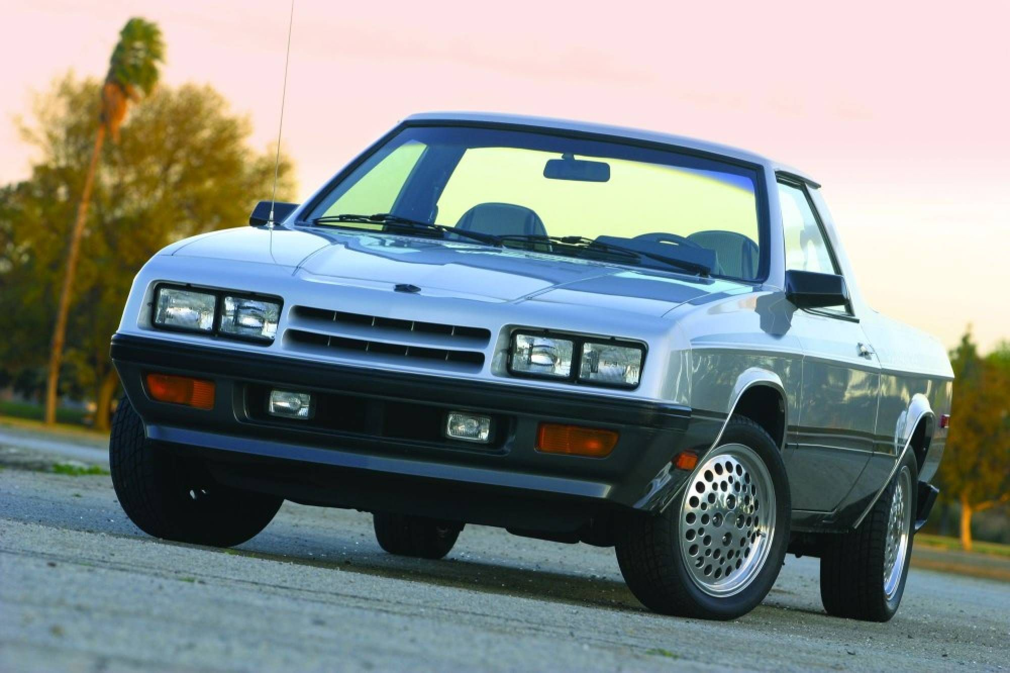 86 shelby dodge rampage blue w slvr mini truck got blues pinterest dodge mopar and cars