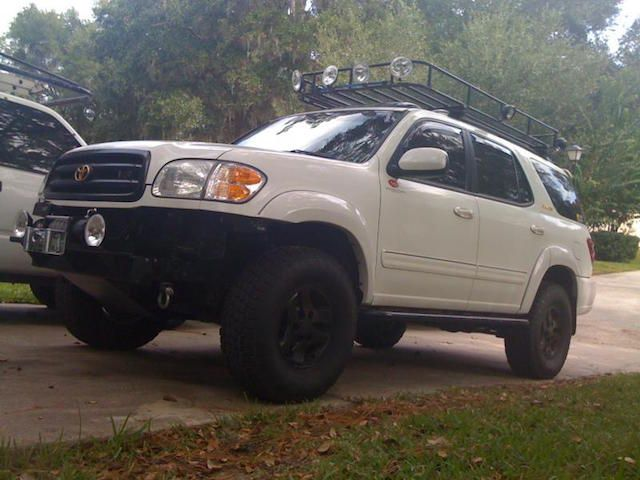 10 Awesome Lifted Sequoias Toyota Parts Blog Toyota Sequoia Overland Ford Ranger Truck Toyota Sequoia Camping