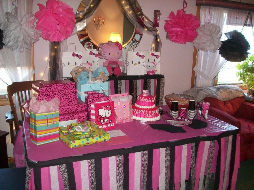Hello Kitty Party Ideas Kaylees 5th Birthday Pinterest