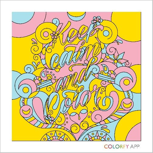 #keep calm and color