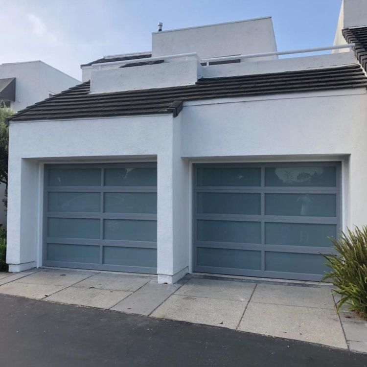 C H I Full View Aluminum Garage Door Garage Door Design Modern Garage Doors Garage Doors
