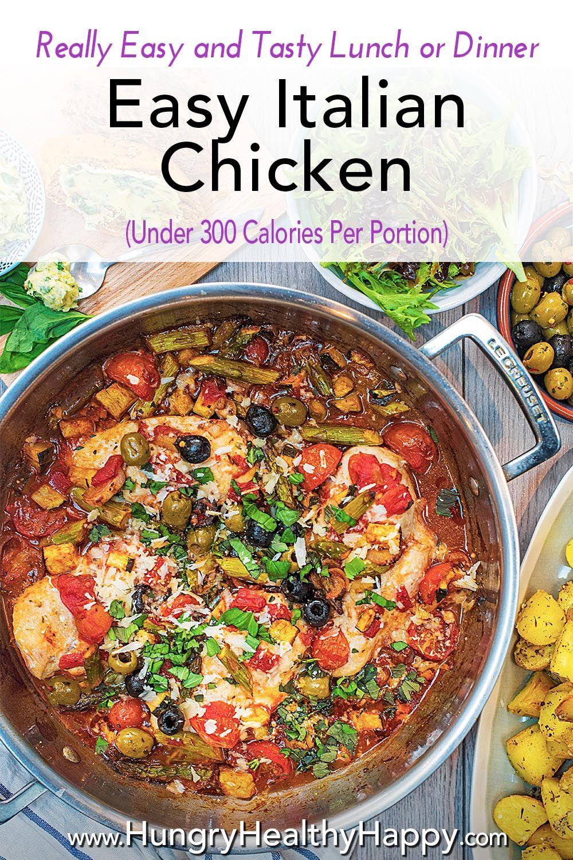 Easy Italian Chicken Recipe Italian Chicken Recipes Easy Vegetarian Recipes Healthy Italian Chicken Recipes