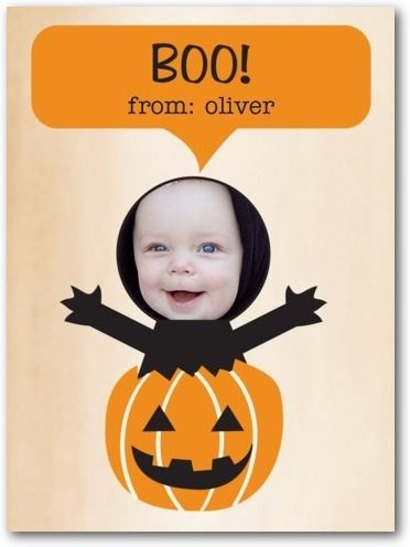Halloween cards for kids, Pumpkin Surprise