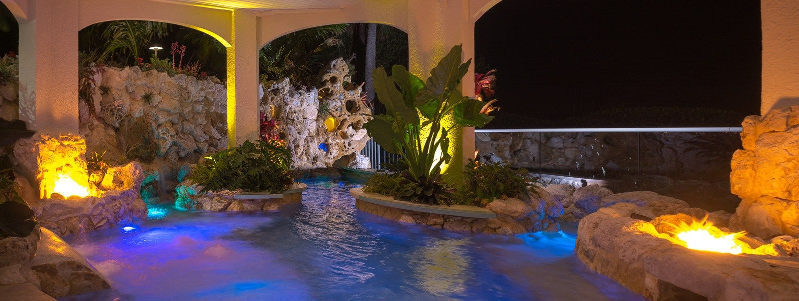 Living Under The Sea Lucas Lagoons Custom Pools Insane Pools Fire Features