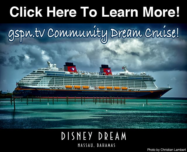 Come join us for the online community event of a lifetime!  gspn.tv Community Dream Cruise